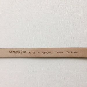 Kenneth Cole Accessories - Kenneth Cole Embossed Geniune Leather Belt Size M